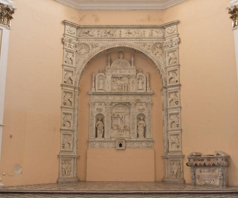 San Mamiliano - Cona del Gagini nella tribuna