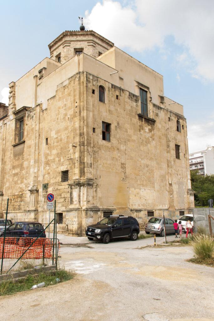 San Giorgio dei Genovesi - Foto del prospetto orientale o posteriore