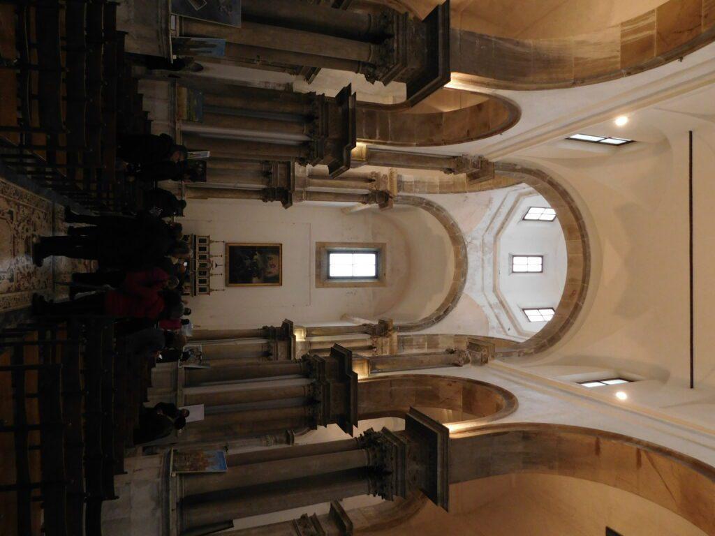 San Giorgio dei Genovesi - Foto della navata centrale con vista verso l'altare