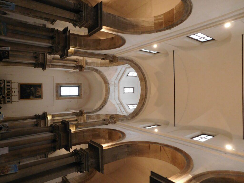 San Giorgio dei Genovesi - Foto della volta della navata centrale