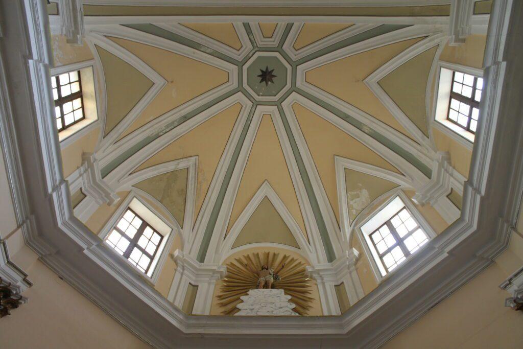 San Mamiliano - Cupola del cappellone