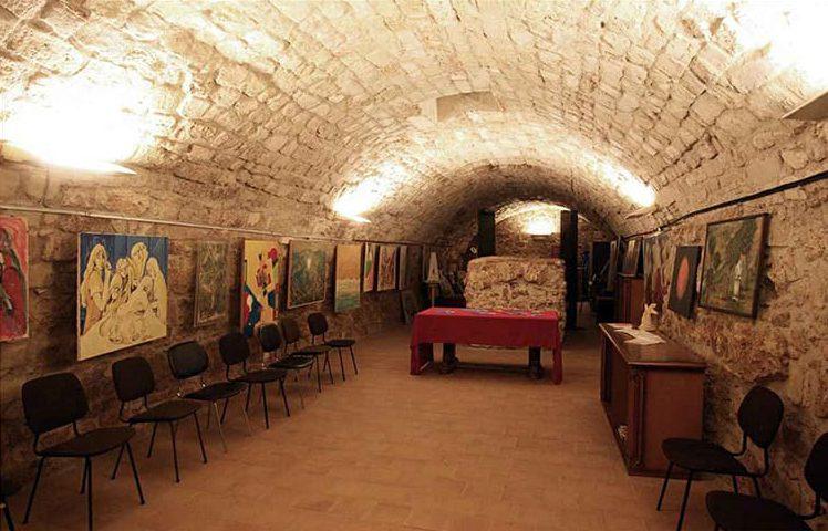 San Giorgio dei Genovesi - La cripta più antica