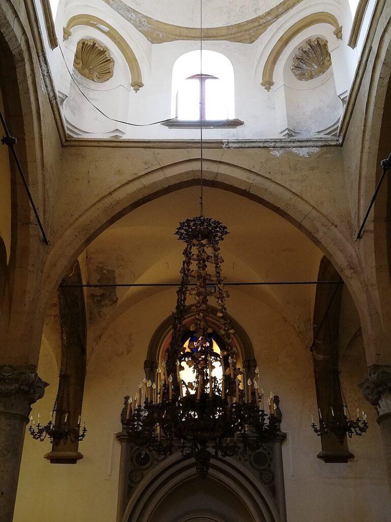 Sant'Antonio Abate - Foto dell'intradosso della cupola