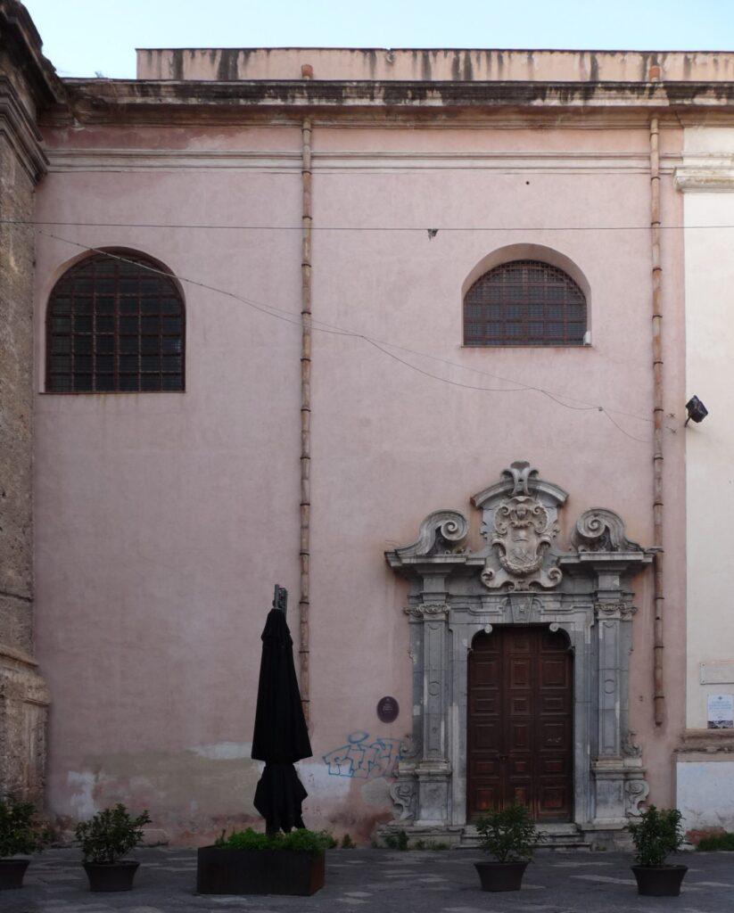 Santa Maria in Valverde - Prospetto meridionale