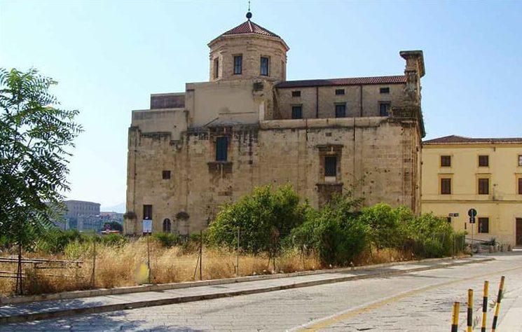 San Giorgio dei Genovesi - Foto del prospetto settentrionale da via Cavour