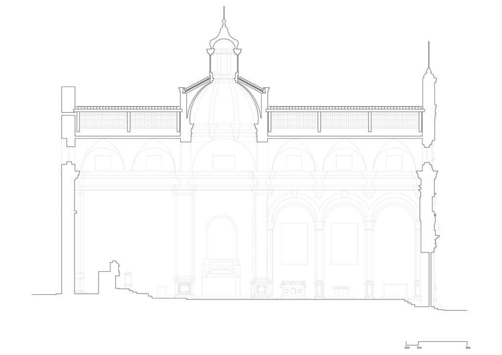 San Sebastiano - Sezione