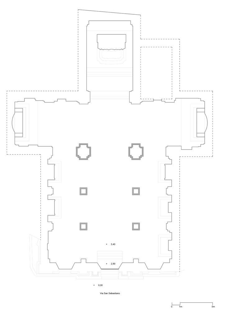 San Sebastiano - Planimetria