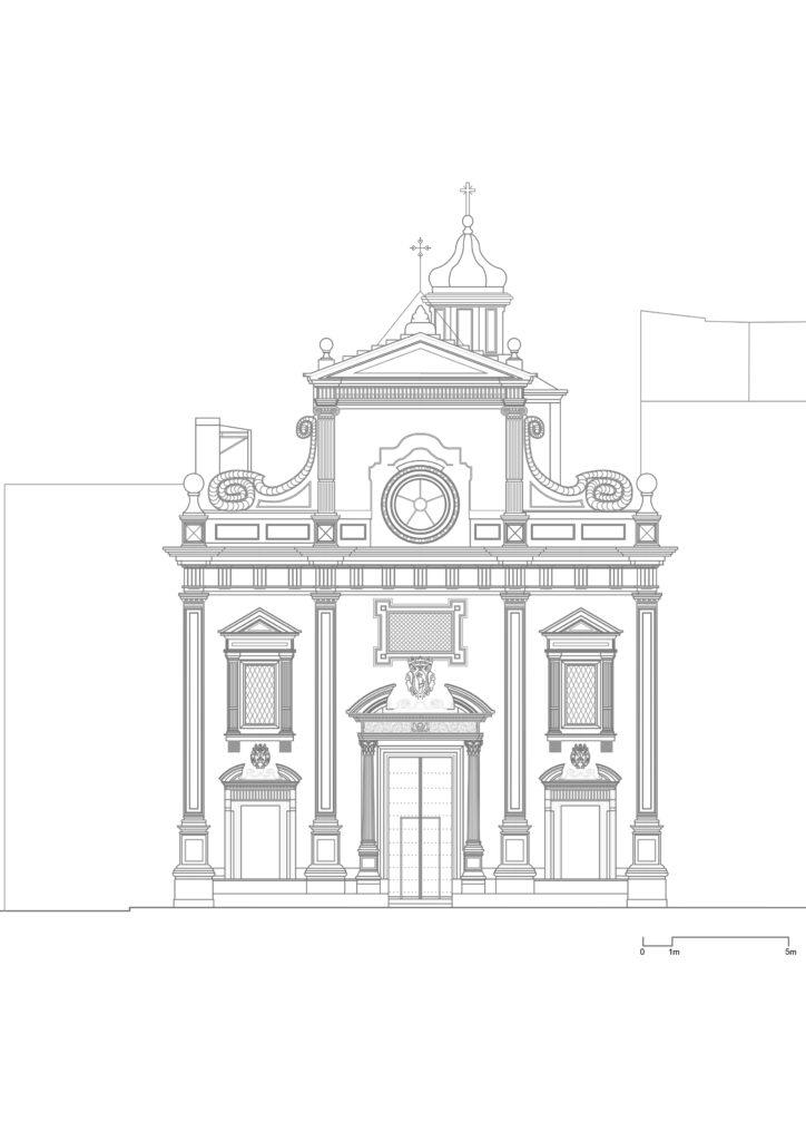 San Sebastiano - Prospetto