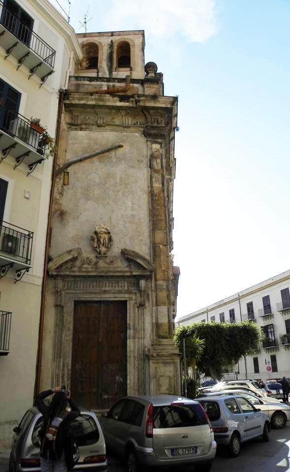 San Sebastiano - Prospetto laterale su via San Sebastiano