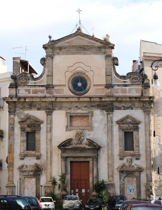 San Sebastiano - Prospetto principale