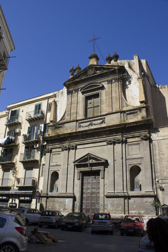 Chiesa della Madonna del Lume ai Cassari - Prospetto principale
