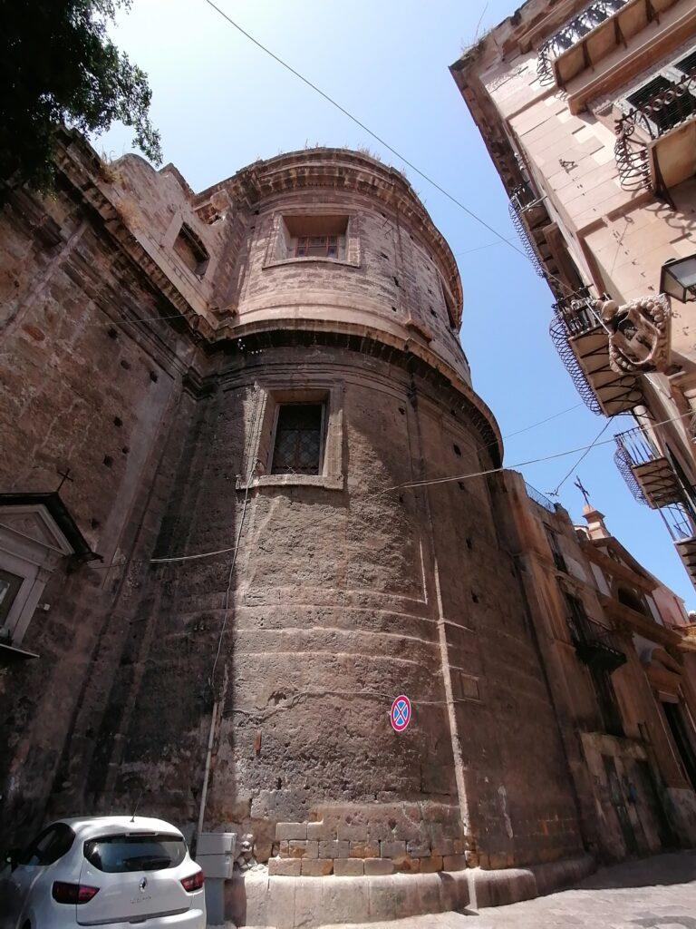 Complesso di San Domenico - Foto dell'abside della chiesa dall'esterno