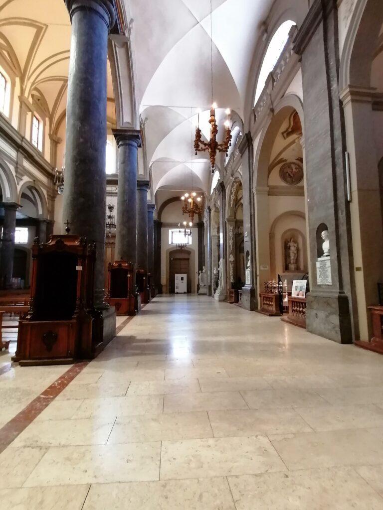 Complesso di San Domenico - Foto della navata settentrionale