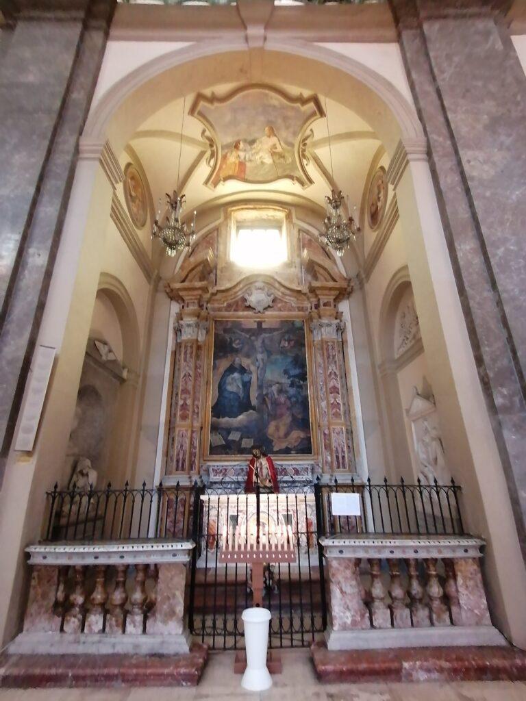 Complesso di San Domenico - Foto della Cappella di San Tommaso d'Aquino (transetto meridionale)