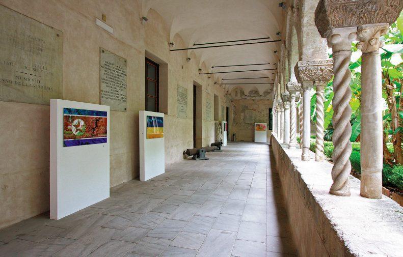 Complesso di San Domenico - Foto della corsia occidentale del chiostro