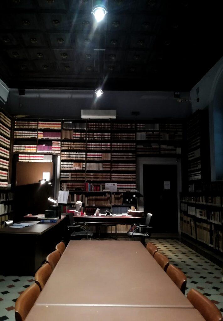 Complesso di San Domenico - Foto della biblioteca della Società Siciliana di Storia Patria